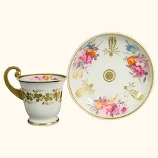 Spode Cup and Saucer in Ancient Greek Style c.1830.
