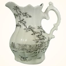 Rare and Early Worcester Cream Jug C.1754