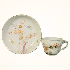 Vienna Kakiemon Cup and Saucer C.1785.