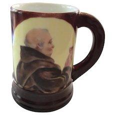 Antique Friar Drinking Mug, T&V Limoges ca. 1892-1907