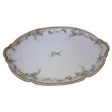 Antique Charles Haviland Limoges Serving Platter ca. 1900 - 1920
