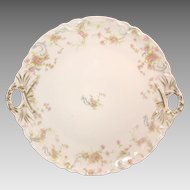 Haviland Limoges, France, CakePlate ca.1893 – 1930