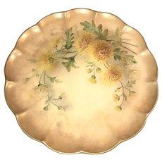 """Antique HandPainted """"Golden Mums"""" George Jones Crescent China, ca. 1874-1924"""