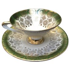 Moderne Cup and Saucer Set, Winterling Brothers, Bavaria 1940-1970