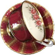 Cup and Saucer Set, Paragon, England