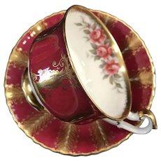 Cup and Saucer Set, Paragon, England