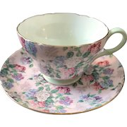 Cup and Saucer Set, Shelley, England