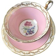 Cup and Saucer Set, Aynsley & Sons, England