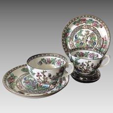 Dessert Cup and Saucer Sets (2), Coalport, England ca 1890