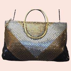Vintage Mesh Handbag, Quad-Color Cross-Body, Jotta, Mesh by Jayco, CA