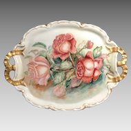 HandPainted Dresser Tray, Haviland Limoges, ca. 1894 - 1931