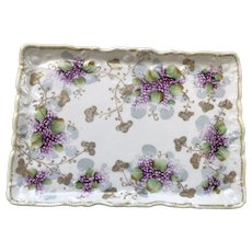 HandPainted Antique Nippon Tray ca.1870-1910