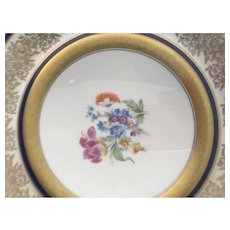 Set of 12 Dinner Plates, Edgerton China, Pickard China