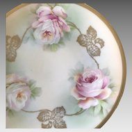 Small HandPainted Plate ca. 1910s-1930s