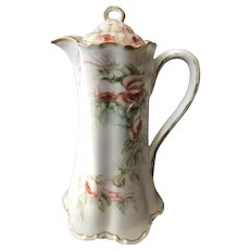 Gracious Chocolate Pot, Haviland, Limoges France 1888-1896