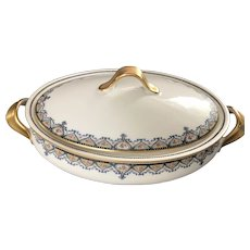 Stunning Covered Casserole, Theodore Haviland, Limoges, France 1903
