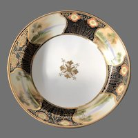 Gilded Footed Bowl, Noritake, Made in Japan 1920-1960