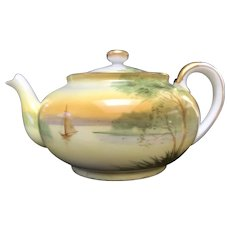 Tea Pot, Nippon HandPainted