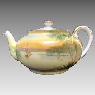 Tea Pot, Nippon HandPainted