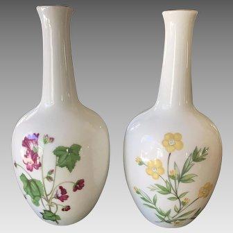 Pair of Minton Bud Vases