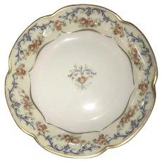 Antique HandPainted Berry Bowl Haviland Limoges France, ca. 1893~1930