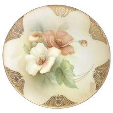 Vintage Display Plate, RS Germany ca. 1910-1938