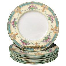 """Vintage Royal Worcester """"Melba"""" Salad Plates (6) ca. 1926-1928"""