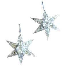 Paste Star Pendants - Matched pair