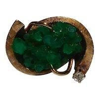 Emerald 14k Ring 2.88 carat total weight