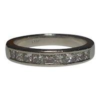 Modern Diamond Band Ring Size 4 1/2