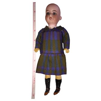 """Armand Marseille 8"""" Doll with Molded, Painted Shoes and Socks"""