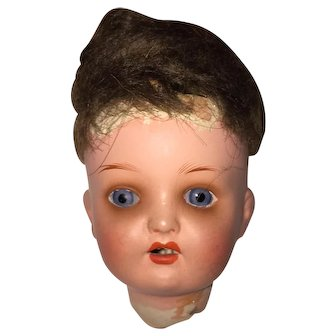 Heubach Kopplesdorf Painted Bisque Head