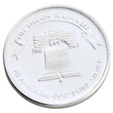 1oz  Silver Round Coin Liberty Bell  Round 1oz Coin Silver Bullion 999 Pure