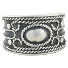 Sterling Silver Ring Band Size 4 1/2
