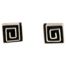 Sterling Silver Stud Post Earrings Nice Quality