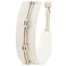 """Sterling Silver Link Bracelet 8"""" inch"""
