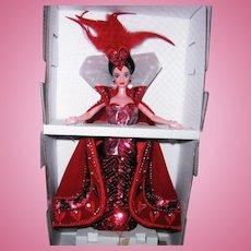 "Mattel's Bob Mackie ""Queen of Hearts"" Barbie from Alice in Wondeland."