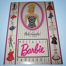 Peck-Gandre Collection Presents Nostalgic Barbie Paperdoll Never Removed From Package