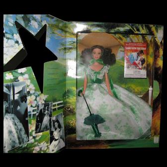 Hollywood Legends Gone With the Wind Scarlett O'Hara ~BBQ ~  Barbie Doll ~ NRFB