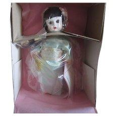 "Lovely Madame Alexander 8"" Japanese Geisha Doll ~ NRFB ~ As New"