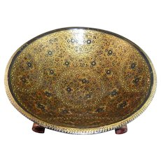 Stunning 19th Century Japanese Lacquer Bowl