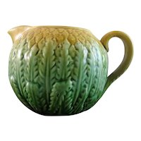 Antique English Majolica Pineapple Cream Jug