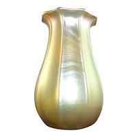 19th Century Signed  LCT Tiffany Favrile Vase