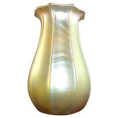 19th Century Signed  LCT Tiffany Favrile Vase