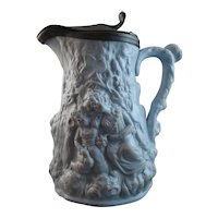 Beautiful 19th Century Relief-Moulded Jug - Babes In The Wood
