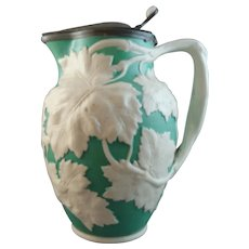 Stunning 19th Century William Brownfield Relief-Moulded Jug