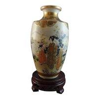 Beautiful Satsuma Vase Signed Kinkozan