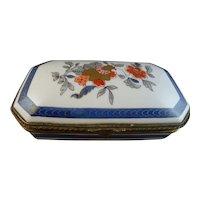 Richard Ginori Limoges Porcelain Dresser Box