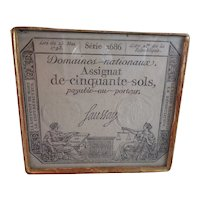 Interesting 18th Century Antique Leather Embossed Box