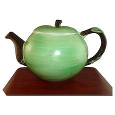 Pretty Carlton Ware Green Apple Teapot